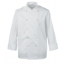 Scholar Chefs Jacket Press Stud Fastening