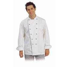Bragard Narvica Chefs Jacket Cotton Stud Buttons