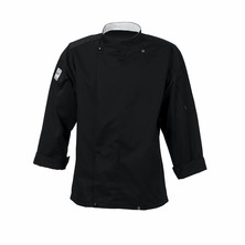 Le Chef DF95 Tunic Cotton Rich Black