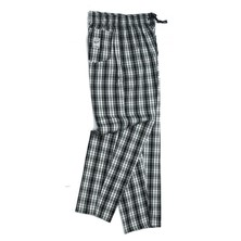 Le Chef DE79C Woven Tartan Pants Poly/Cotton