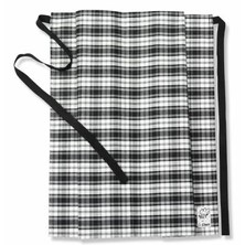 Le Chef DE45C Straight Top Apron Woven Tartan