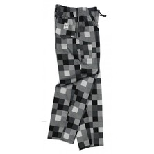 Le Chef DF56A Pants Big Check Grey