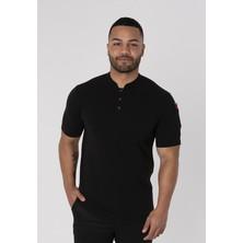Le Chef DF130 Pique Chef Shirt With Stand Up Collar