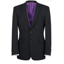 Gents Suit Jacket Polyester Black