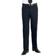 Gents Suit Trousers Polyester Black