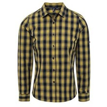 Mulligan Check Blouse Female