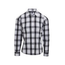Ginmill Check Blouse Female
