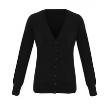 Essential Lady's V-neck Cardigan Acrylic