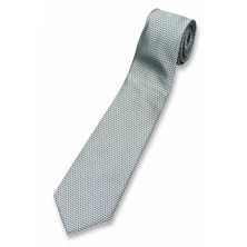 Tie Morning Grey Woven Polyester