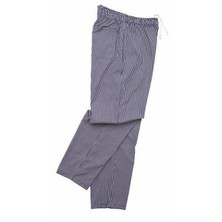 Scholar Chefs Trousers Small Blue & White Check