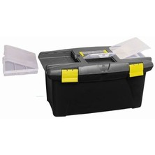 "Stanley Large Knife Box With Removable Tray 19"" x 9"" x 9"""