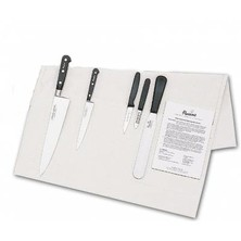 Knife Set Sabatier Medium With 25cm Cooks Knife In Cotton Wallet