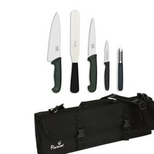 Knife Set Smithfield Medium With 20cm Deep Cooks Knife In KC210 Case
