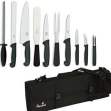 Knife Set Smithfield Large With 23cm Cooks Knife In KC210 Case