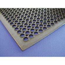 Kitchen Matting Black Rubber 90cm X 150cm X 1.4cm