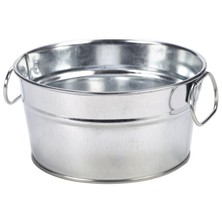 Galvanised Sharing Bucket 15cm X 8cm