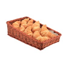 Wicker Display Basket 40cm X 25cm X 12cm