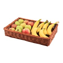 Wicker Display Basket 46cm X 30cm X 8cm