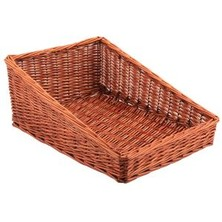 Wicker Display Basket 46cm X 36cm X 20cm
