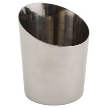 Stainless Steel Plain Angled Cone 9.5cm X 8.1cm / 11.6cm Dia