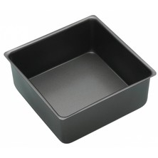 Tin Cake Square Non-Stick Loose Base Non-Stick 30cm