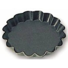 Tartlet Tin Non-Stick 75mm X 12mm Fluted