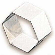 Mould S/s Hexagonal 7cm X 7cm