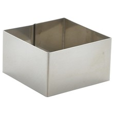 Square Mould / Mousse Ring 8cm X 6cm (Box Of 12)