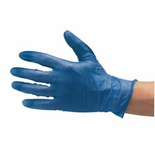 Vinyl Gloves Powder Free Blue (Box Of 100)