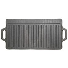 Griddle Reversible Cast Iron 45cm X 23cm