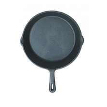 Grill Pan Cast Iron 24cm Dia