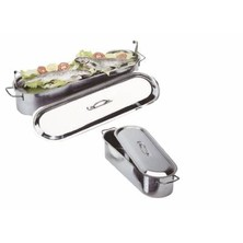 Fish Kettle With Rack S/S 60cm Long