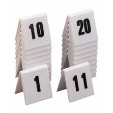Numbers Table Plastic Set Of 10 1 - 10