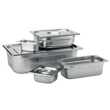 Food Pan Gastronorm S/S GN 1/9 1/9 17.6cm X 10.8 X 10cm Deep
