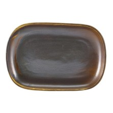 Terra Porcelain Rectangular Plate 24cm x 16.5cm (Box Of 12)