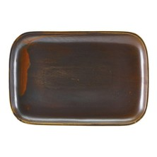 Terra Porcelain Rectangular Plate 34.5cm x 23.5cm (Box Of 6)