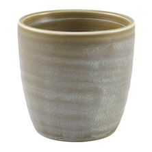 Terra Porcelain Chip Cup 8.7cm x 8.7cm (Box Of 6)