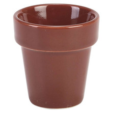 Glazed Porcelain Plant Pot 5.5cm X 5.8cm 6cl (Box Of 6)