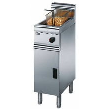 Lincat J5/n Free Standing Natural Gas Single Tank Fryer 12ltr With 1 Basket 11.4kw