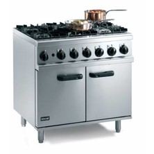 Lincat Og8002/n 6 Burner Natural Gas Oven Range