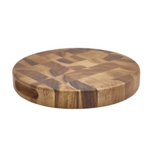 Acacia Wood End Grain Chopping Board 28cm X 4cm