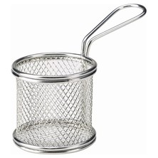 Frying Basket Round Stainless Steel 9cm