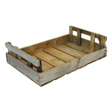 Rustic Potato Chitting Tray Crate Small 450mm X 300mm X 115mm