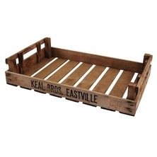 Rustic Original Wooden Potato Chitting Tray Crate 765mm X 460mm X 160mm