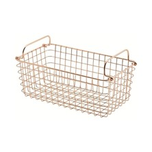 Wire Display Basket Copper GN1/3 31.5cm X 17cm X 12cm