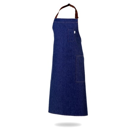 Work Range Denim Bib Apron With 2 Hip & 1 Pen/Spoon Pocket 89cm X 96cm