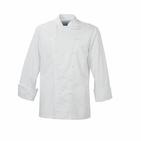 De Berkel Maitre Chefs Jacket Poly Cotton With Stud Buttons