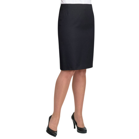 "Lady's Suit Skirt Polyester Length 22"" Black"
