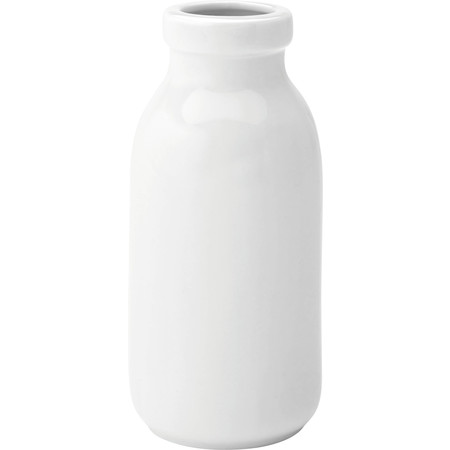 Mini Milk Bottle Ceramic 130cl (Box Of 6)