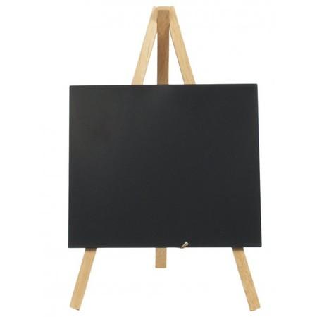 Mini Chalkboard Easel Wood 24cm X 11 5cm Pack Of 3